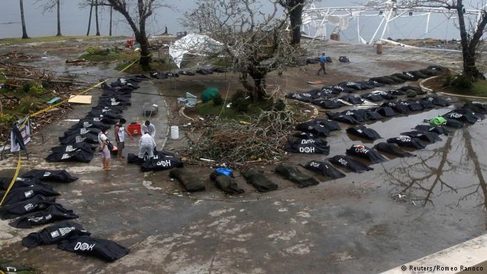 افزایش شمار قربانیان طوفان در فیلیپین