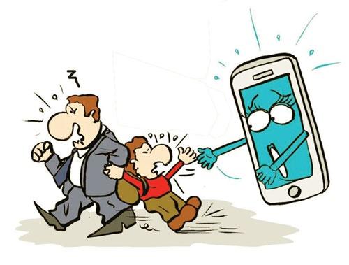 تلفن همراه در مدرسه ممنوع!