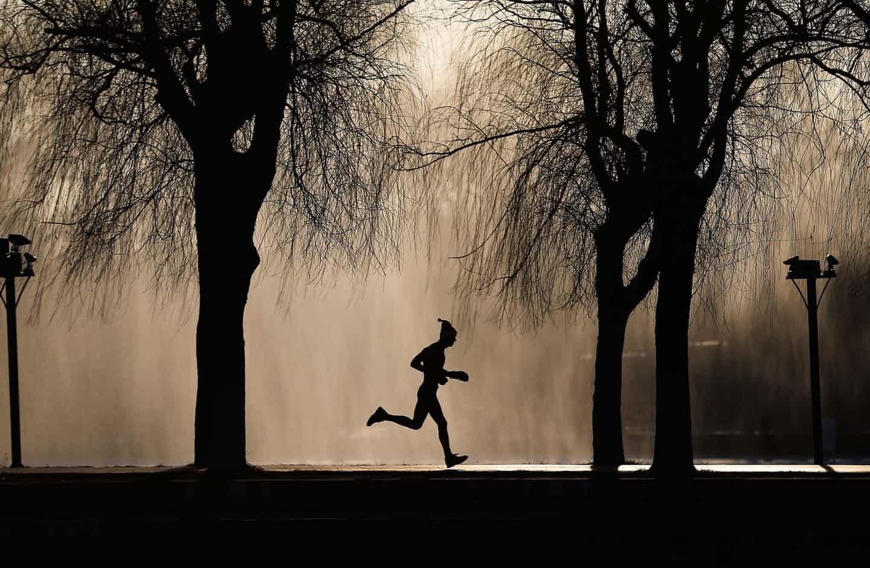 عکس روز: دویدن قبل از شنا