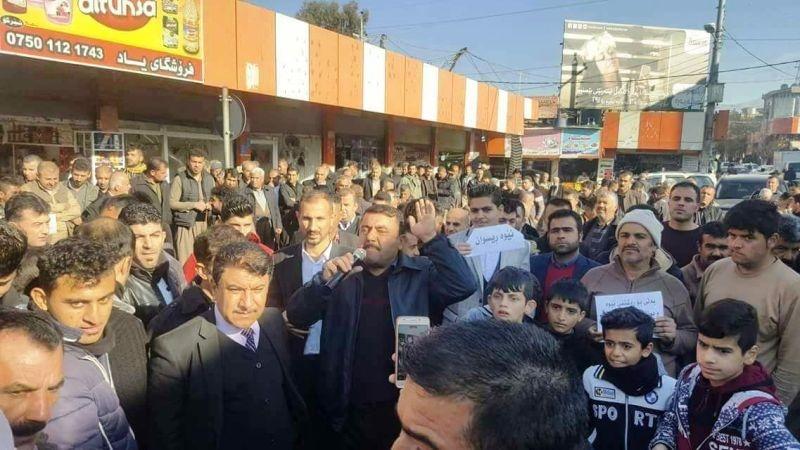 بازداشت ۴۰۰ نفر توسط نیروهای امنیتی کردستان عراق | کنارهگیری رئیس پارلمان