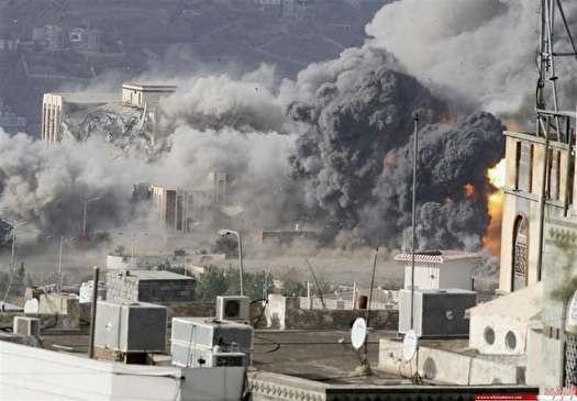 جنایت تازه سعودی ها در یمن  حمله مرگبار به بازاری در تعز