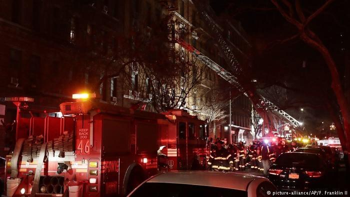 دستکم ۱۲ نفر در یک آتشسوزی در نیویورک کشته شدند