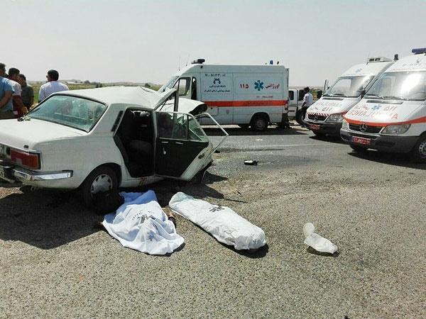 حوادث رانندگی: ۱۱ هزار و ۵۳۶ کشته طی ۸ ماه