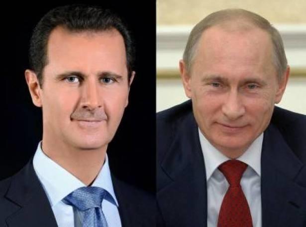 پوتین: روسیه به دفاع از سوریه و حق حاکمیت آن ادامه میدهد