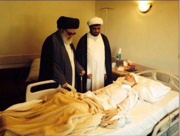 انتقال رهبر نهضت اسلامی بحرین به بیمارستان