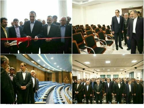 افتتاح پروژه در مشهد