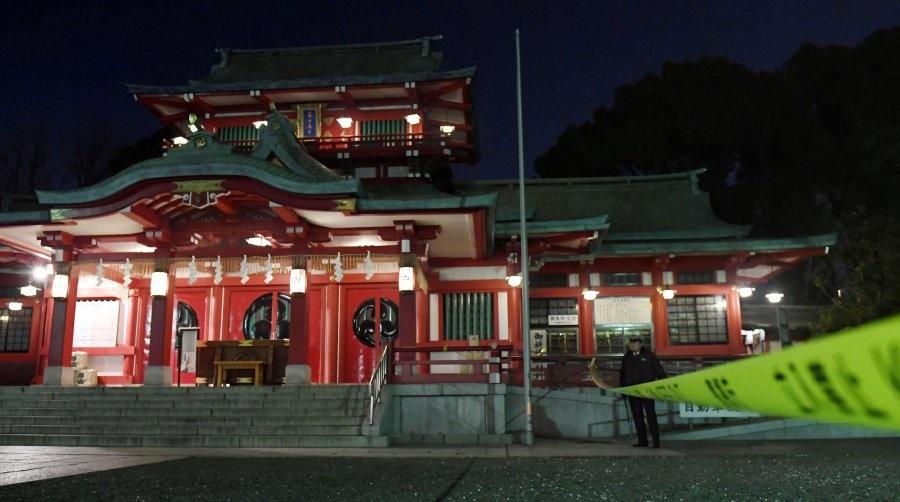کاهن معبد معروف توکیو با شمشیر سامورایی کشته شد
