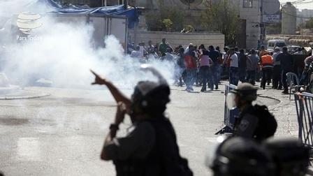 خروش فلسطینی ها در روز خشم | زخمی شدن دهها تن در پی حمله نظامیان صهیونیست