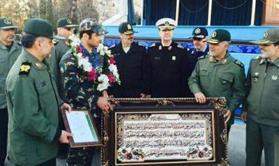 تقدیر از علیرضا کریمی در ستاد کل نیروهای مسلح