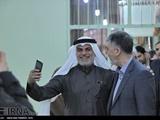 مداحی «نزار قطری» در دیدار با وزیر ارشاد