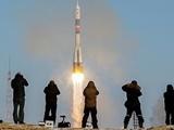 فضاپیمای سایوز سه فضانورد را از قزاقستان به ایستگاه بینالمللی برد