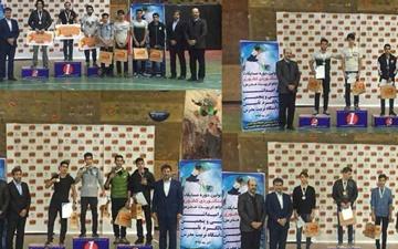 نتایج اولین دوره مسابقات سنگنوردی جام تربیت مدرس