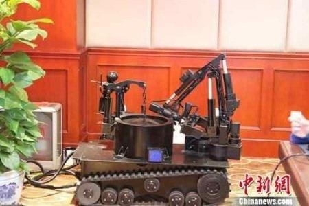 ساخت ربات خنثی کننده بمب در چین