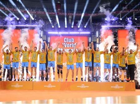 زنیت کازان قهرمان والیبال باشگاه های جهان شد