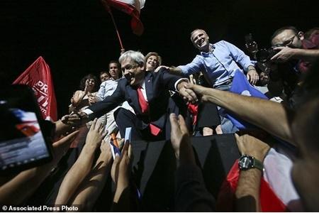پینیه را بار دیگر رئیس جمهور شیلی شد