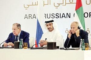 پس از مذاکرات لاوروف در ابوظبی قرار است هفته آینده هیأتی از مقامهای روسیه برای مذاکره با بشاراسد عا