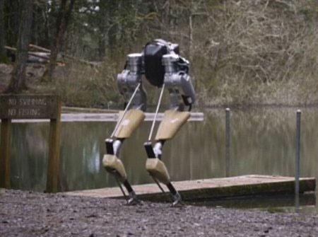 طراحی یک روبات با الهام از شترمرغ