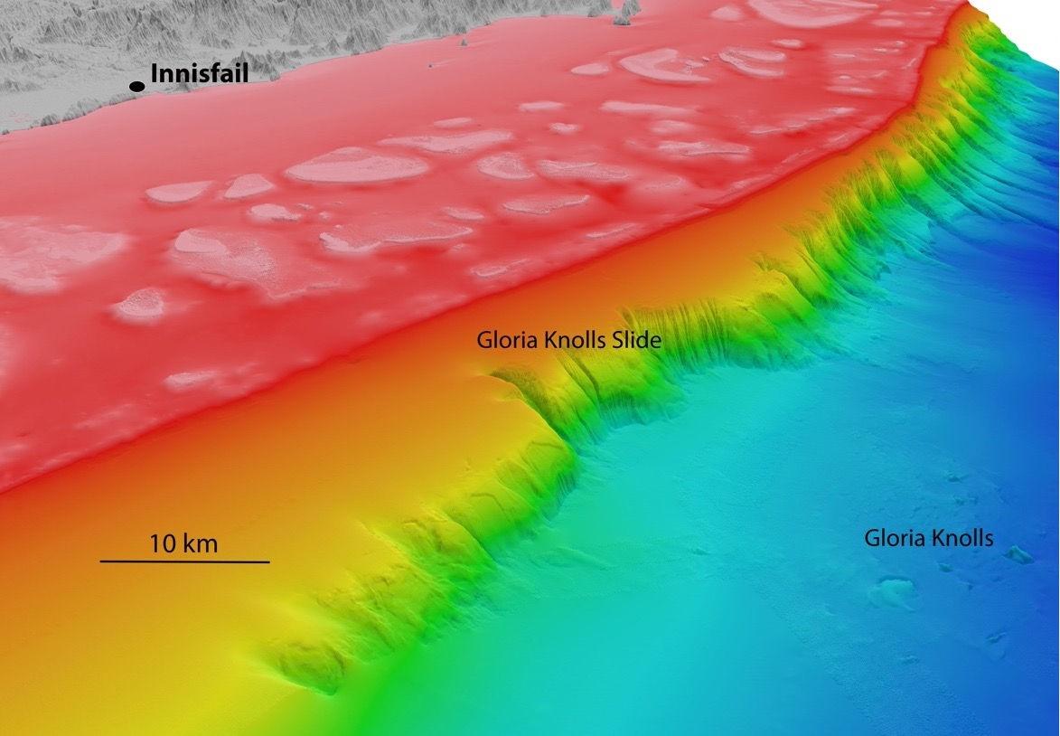 کشف بزرگترین زمینلغزش زیردریایی جهان در سد بزرگ مرجانی