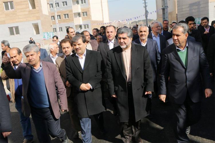 پروژه مسکن مهر کهریزک تکمیل شد