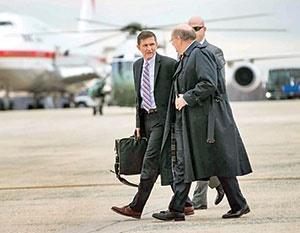 مایکل فلین، مشاور امنیت ملی ترامپ،