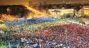 سونامی اعتراض به فساد دولتی در رومانی
