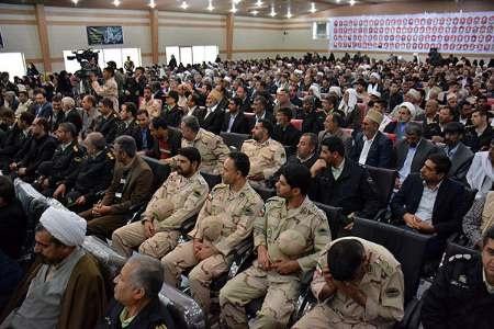 برگزاری یادواره سرداران و ۲۵۰ شهید انتظامی شمال سیستان وبلوچستان