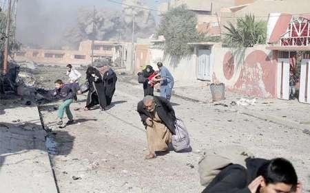 وقوع دو انفجار انتحاری در شرق موصل