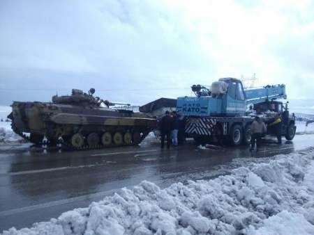 آمادگی کامل نیروی زمینی ارتش برای مردم یاری در انواع حوادث