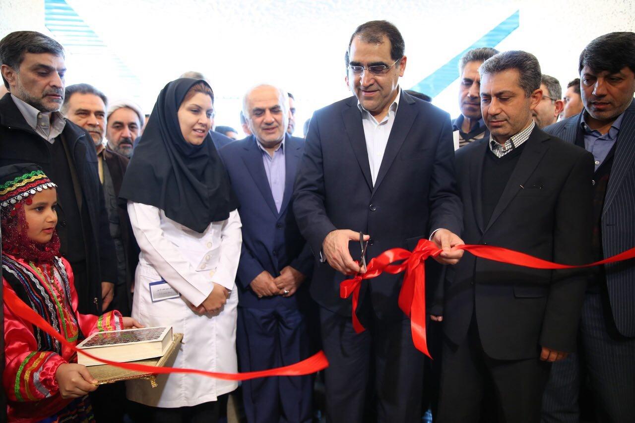 افتتاح پروژه های بهداشتی در مازندران