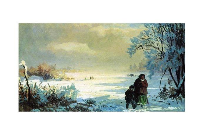 زمستان از چشم هنرمندان نقاش