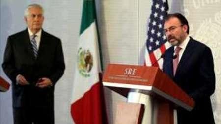 خشم وزیر خارجه مکزیک از سیاستهای واشنگتن علیه این کشور