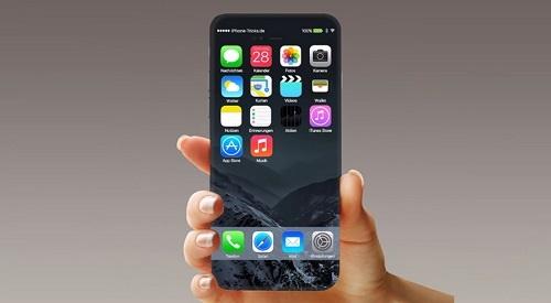 صفحه نمایش اسکن | استفاده از اثر انگشت در آیفون ۸