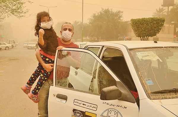 ریزگرد-خوزستان