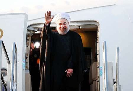 رئیسجمهور از زاهدان به اسلامآباد رفت