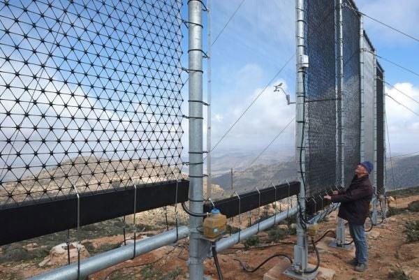 حصاری برای تبدیل مه به آب