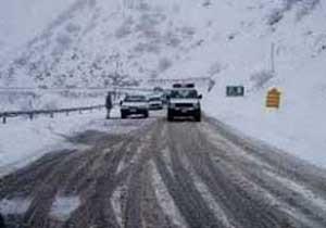 برف و جاده