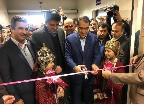 افتتاح مراکز درمانی در استان گلستان