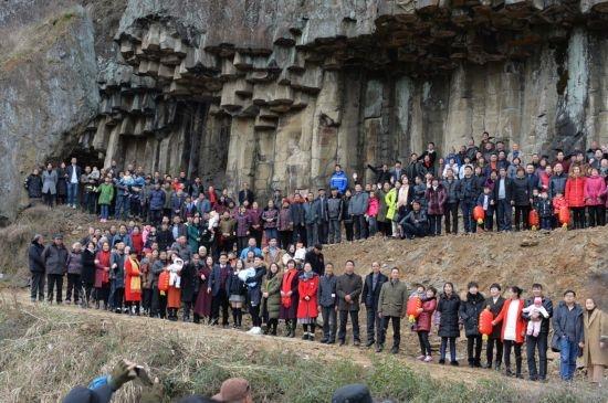 تصویر روز: عکس خانوادگی ۵۰۰ نفره