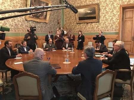 مذاکرات عراقچی و ریابکوف پشت درهای بسته در مسکو