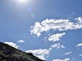تصویر | ابرها و زمین