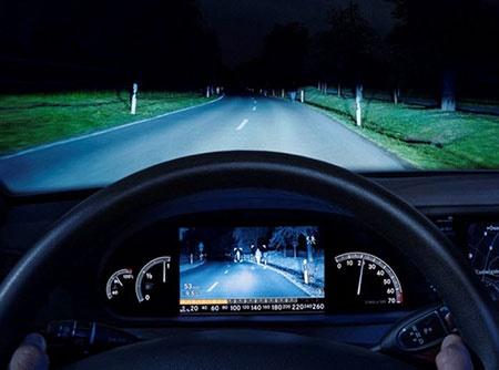 آشنایی با نحوه عملکرد سیستم های دید در شب ویژه خودروها