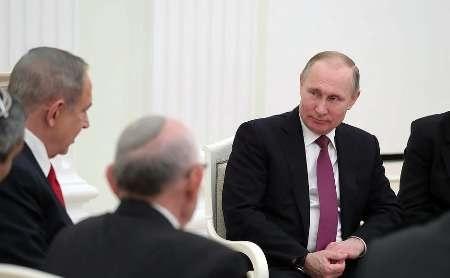 بی توجهی پوتین به ادعاهای ضدایرانی نتانیاهو