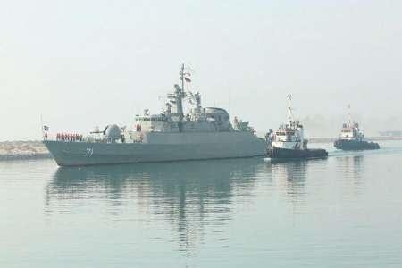 ناوگروه ۴۴ نیروی دریایی ارتش به کشور بازگشت