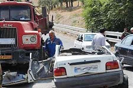 پزشکی قانونی: بیش از ۶ درصد تلفات رانندگی سالانه مربوط به ایام نوروز است