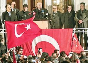 هلند، وزیر خارجه ترکیه را راه نداد  آنکارا تهدید به تحریم کرد