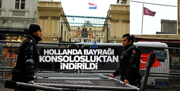 پرچم هلند در استانبول پایین کشیده شد | اردوغان: به هلند دیپلماسی را یاد خواهیم داد