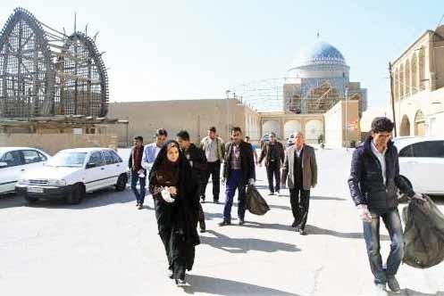 مشارکت مردم در پاکسازی بافت تاریخی یزد