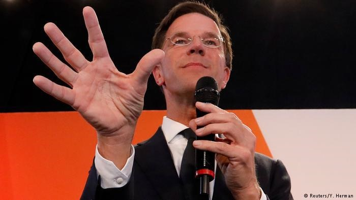 حزب لیبرال در انتخابات هلند به پیروزی رسید