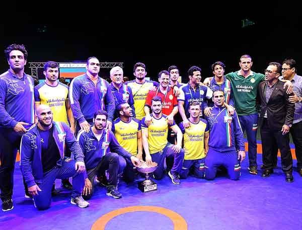 تیم ایران به عنوان سوم جام جهانی کشتی فرنگی رسید | روسیه قهرمان شد