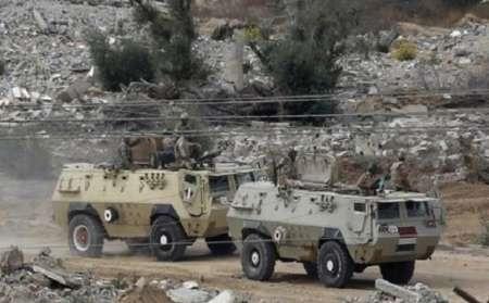 روز خونین در سینای مصر | ۲۵ نظامی و تروریست کشته شدند